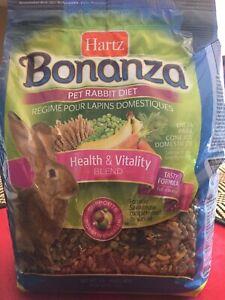 Bonanza brand rabbit food