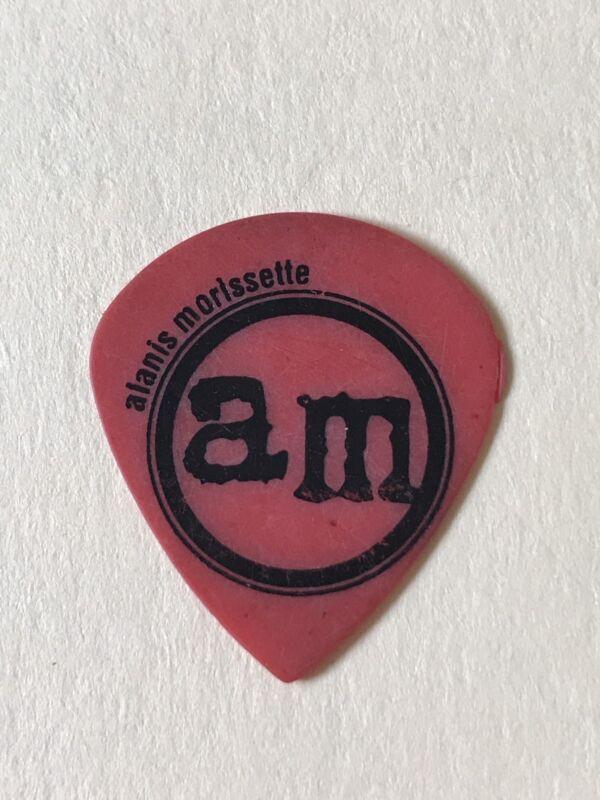 Alanis Morissette authentic Vintage tour Guitar Pick