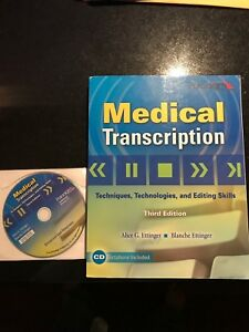 Medical Transcription Book with CD