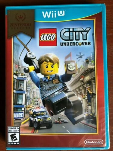 Nintendo Selects: LEGO City Undercover Nintendo Wii U WUPPAPL3