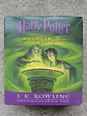 Harry Potter and the Half Blood Prince Audio Book on 17 CDs compact