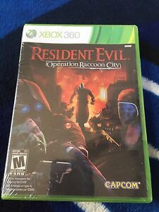 Resident Evil Operation Raccoon City Xbox 360 brand new