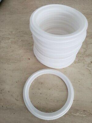 Teflon Sanitary Gasket 2.5 Dia. For Tri Clamp Ferrule
