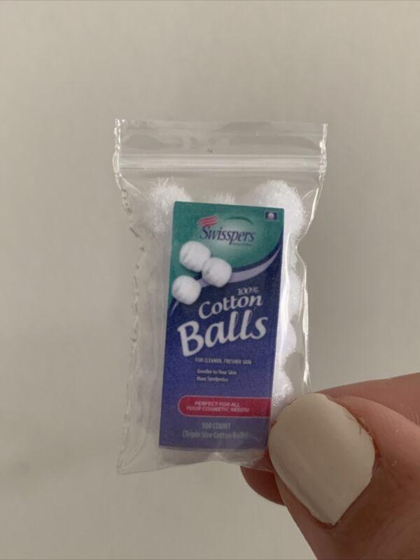 Miniature Cotton Balls