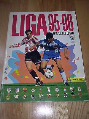 Album Vacio Plancha Panini Liga Temporada 1995/1996 95/96