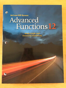 Advanced Functions - Study Guide