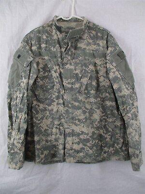 ACU Shirt/Coat Medium Regular USGI Digital Camo Cotton/Nylon Ripstop Army Combat