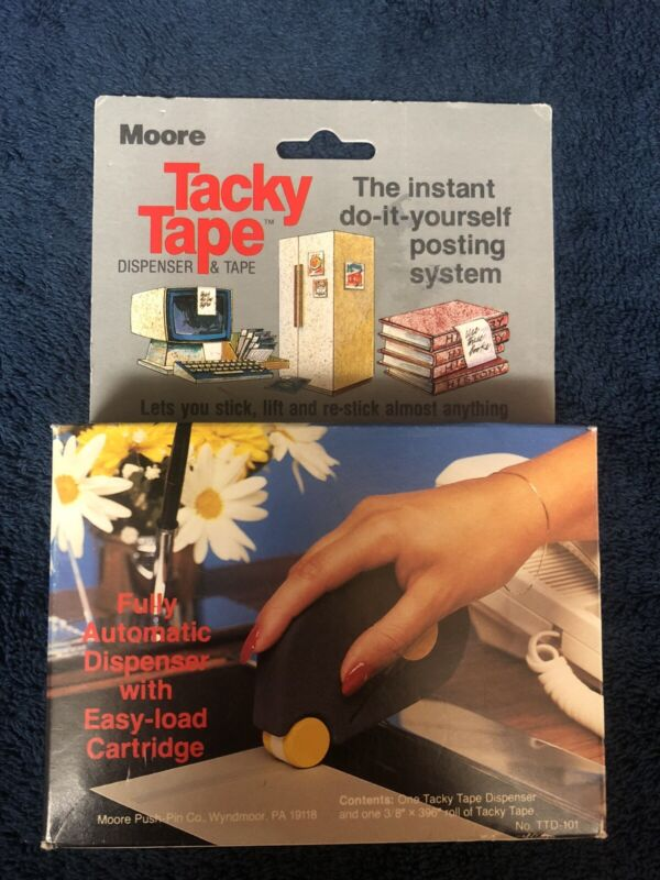 Moore Tacky Tape New