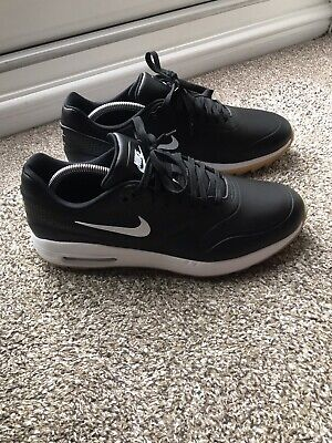 Nike Air Max Black Mens Golf Shoes Size UK 8 1/2