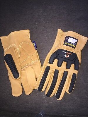 Endura Impact Protection Leather Gloves size M