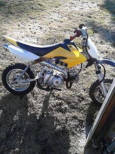 looking for a 50cc to 110cc pit  bike