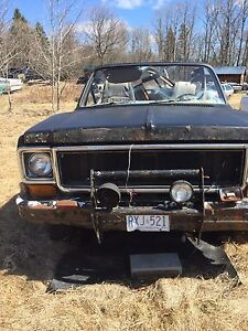 Convertible Jimmy Blazer Squarebody K5
