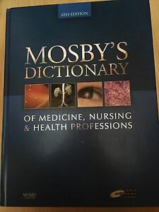 Mosby's dictionary of medical, nursing & health professions