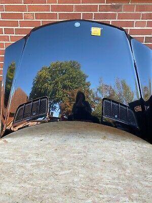 Mercedes-Benz ML 320CDI W164 Motorhaube Obsidian Schwarz Code 197