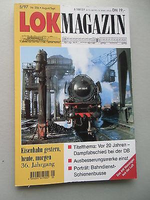 LOK Magazin Eisenbahn gestern heute morgen 5/97 Nr. 206 Aug./Sept.