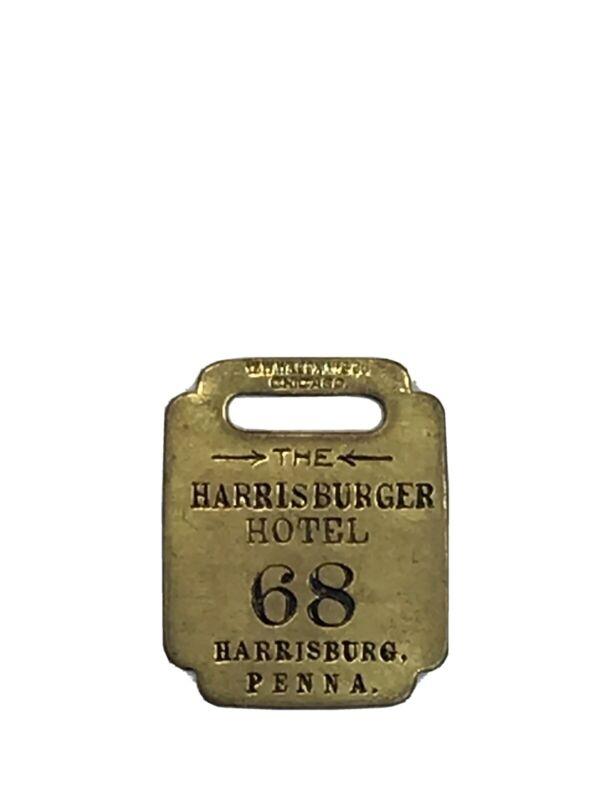 Vintage Harrisburger Hotel Harrisburg Pa Room Key Fob R(614)