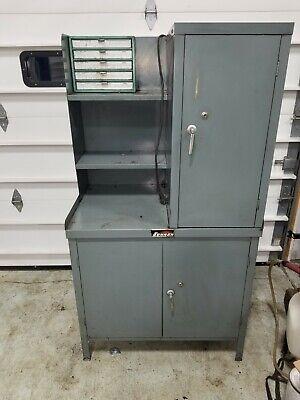 Sunnen Mandrel Storage Cabinet With Stone Cabinet