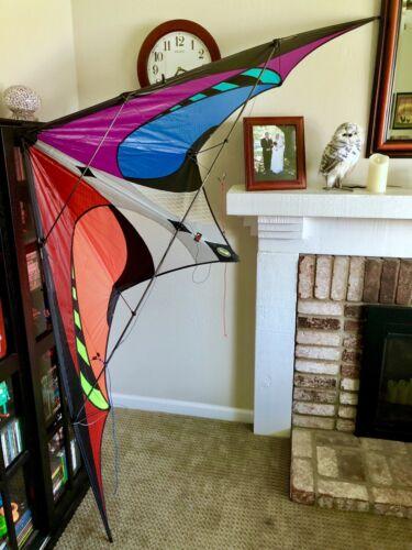 new e3 stunt kite spectrum colorway free