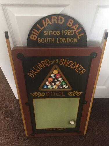 Billiards  And Snooker 3D scoreboard