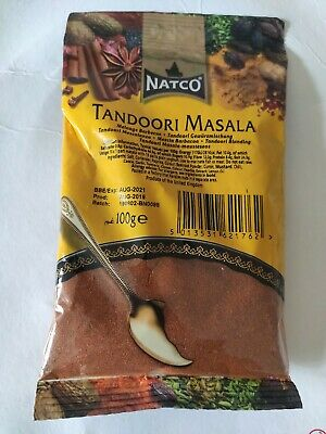 Authentic TANDOORI MASALA - NATCO - 100g, exp aug 21