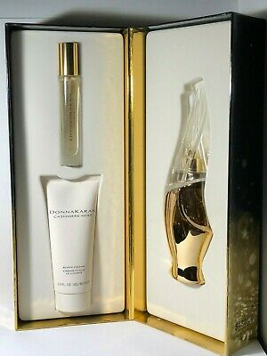 Cashmere Mist Essence (Donna Karan Cashmere Mist Essence 3 PCS EDT Gift Set For Women)