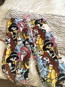 Women's Disney Princess fleece pajama pants
