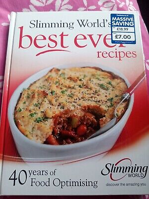 Slimming World's Best Ever Recipes Food Optimising Book **New With
