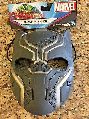 Marvel Black Panther Mask by Hasbro Durable Thick Plastic Extra Thick Head Strap](Halloween Special Garfield)