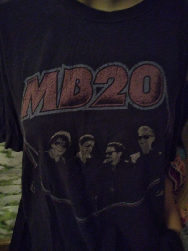 Adult Sz LG Matchbox 20 Summer Tour 2017 Souvenir  T Shirt