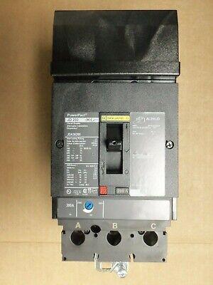 New No Box Square D Jd250 Jda36200 3 Pole 600v 200 Amp Powerpact Circuit Breaker