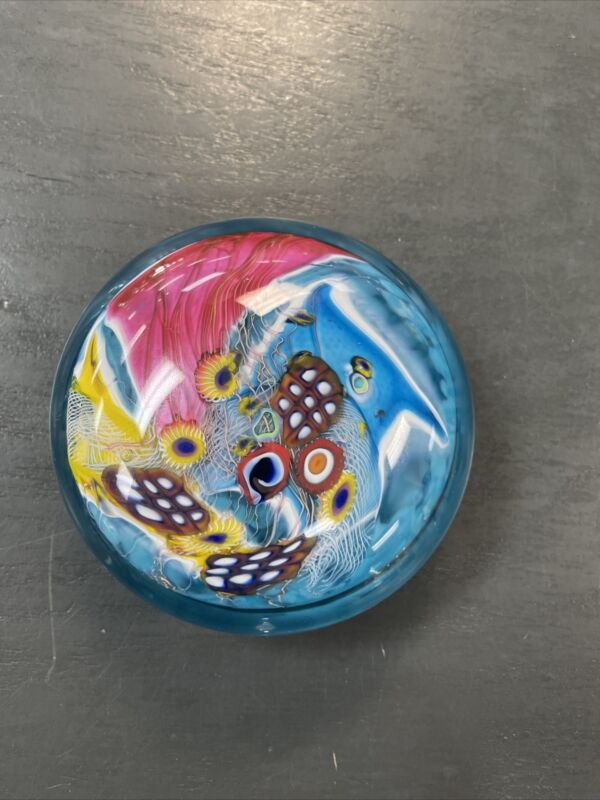Wes Hunting Glass Paperweight