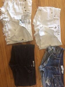 Four Pairs of TNA/Artizia and Abercrombie Shorts