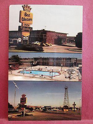 Postcard OK El Reno Best Western Inn at Hensley's