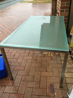 Dining Table Glass Top For Sale