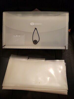 Making Memories Storage Expanding Folder Plastic Accordion Crafts Embellishments