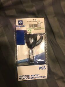 PS3 Bluetooth headset