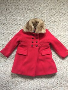 Girls 3T Tommy Hilfiger dress coat with tags