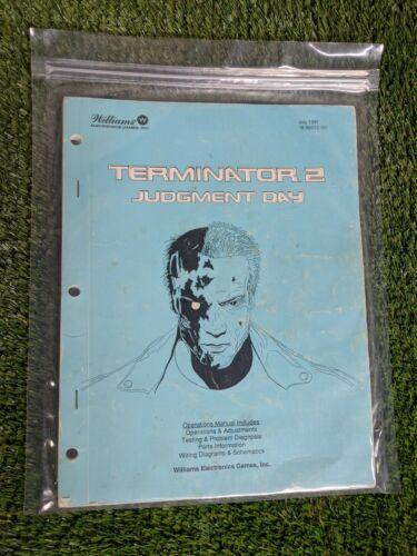 Terminator 2 Judgment Day Williams Pinball Manual