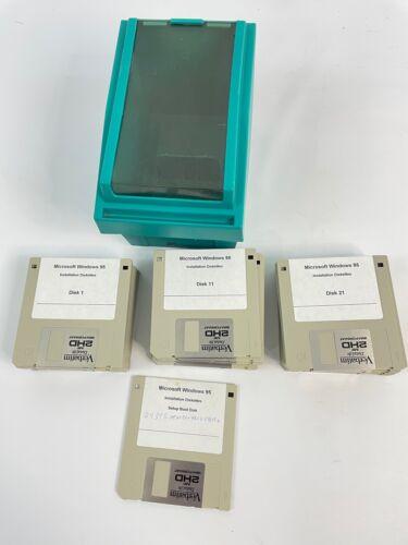 "Original Microsoft Windows 95 3.5"" Floppies Install Diskettes - Used - 31 disks"