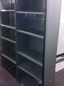Metal shelving @ $ 15 a bay shed storage tools cabinet cupboard Lansvale Liverpool Area Preview