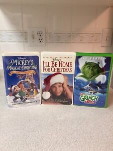 Vhs Christmas movies $5 each