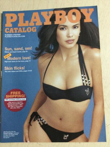 Playboy Catalog Preview 2003 Christina Santiago sexy cover + order form intact