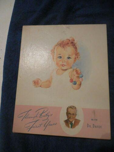 """NOS Baby Book """"Through Baby"""