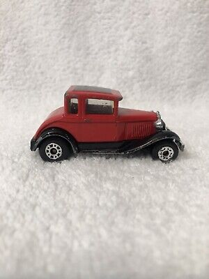 1979 Matchbox  Model 'A' Ford Red