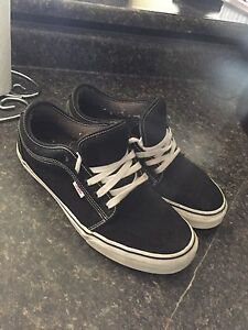 Vans shoes black size 13 perfect condition
