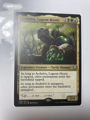 Archelos, Lagoon Mystic Commander Legends Magic MTG Legendary Creature (268/361)