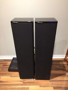 Mirage Centre and Tower Speakers