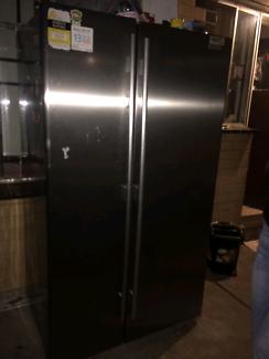 Silver fridge / freezer