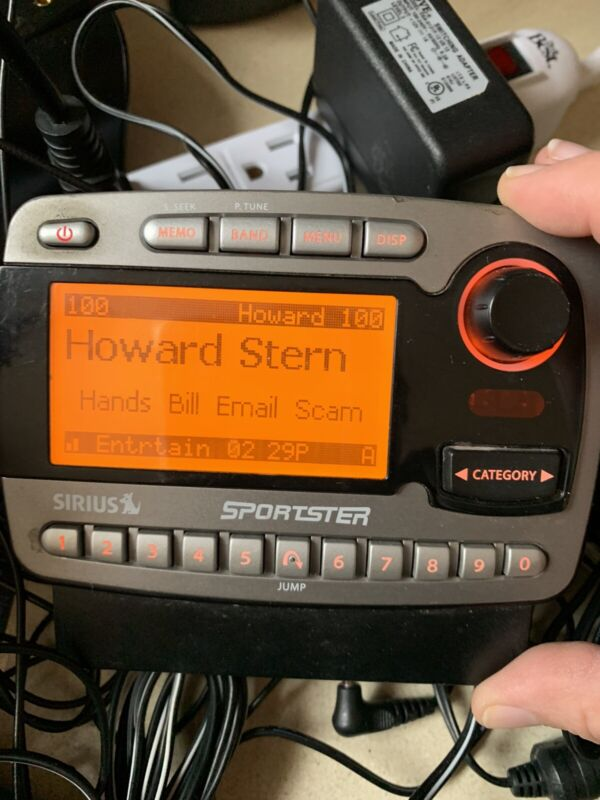 Activated EUC RARE 88.1 Sirius Sportster SP-R1  receiver only Weak Fm Transmit