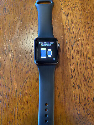 Apple Watch Sport 38mm 1st Gen - USED 8/10 (no scratches)